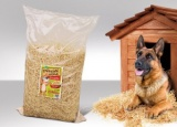Podestýlka z dřevité vlny pro psy 150l