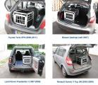 Umístění klece v autech