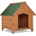 Bouda pro psa s odklápěcí střechou 71x88x83 cm