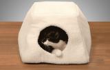 Pohodlný kočičí pelíšek Luise, výška 30 cm