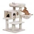 Variabilní škrabadlo pro kočky Roxana béžové 112 cm