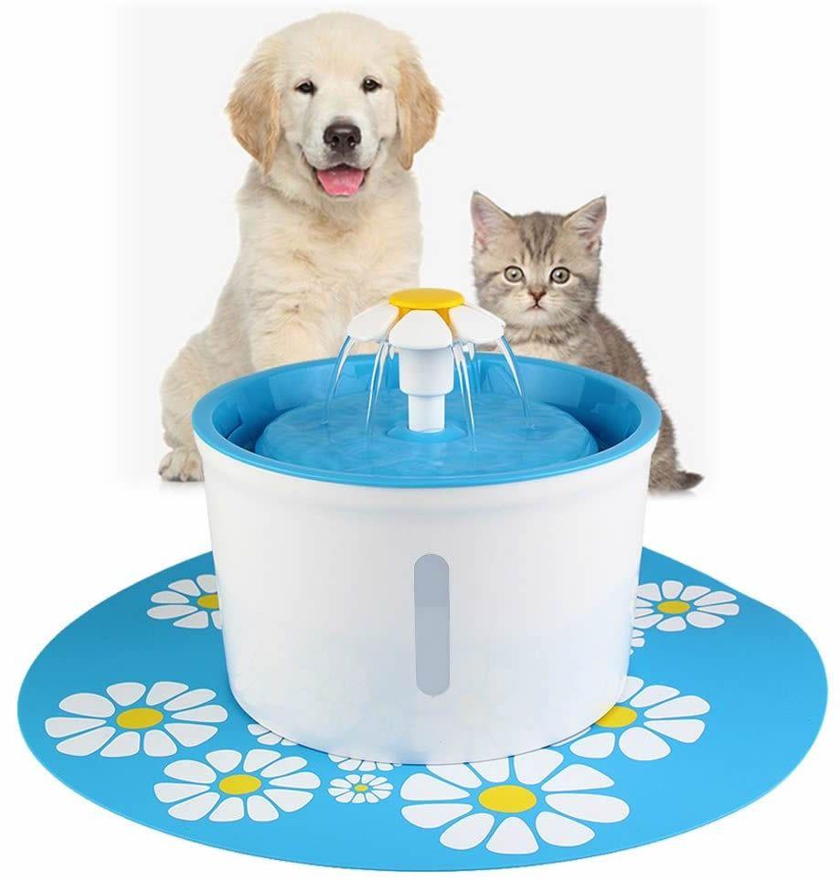 Fontána pro kočky s podložkou