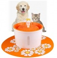 Fontána na pití pro kočky (oranžová)