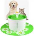 Fontána na pití pro kočky (zelená)