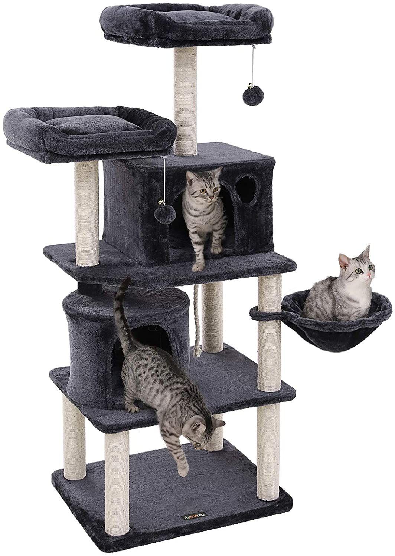 Škrabadlo pro kočky Katanga tmavě šedé
