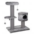 Robustní krabadlo pro kočky Rosalie šedá 106 cm